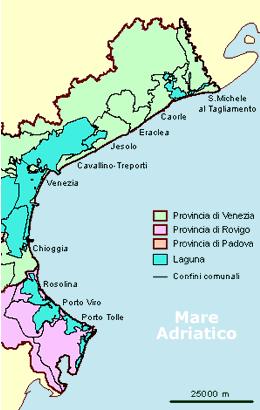 Cartina Spiagge Veneto.Balneazione Veneto Bandiere Blu Per Tutte Le Spiagge Salute H24