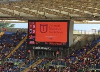 Olimpico, partner, san raffaele, roma, calcio
