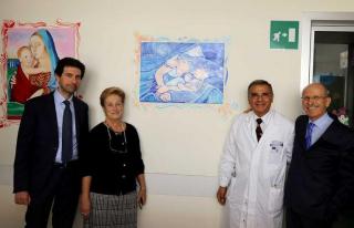 Rappuoli  siena  pediatria  scotte  detenuti  dipinti  mostra  quadri