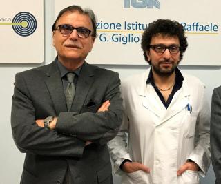 Da sx Vittorio Virgilio e Marcello Spampinato