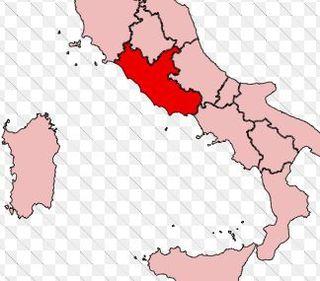 Regione lazio cartina