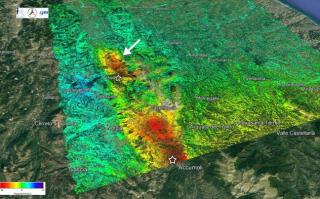 Ingv, terremoto, sisma, amatrice, accumuli, movimento, radar, cnr, satelliti