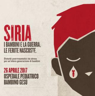 Siria  bambini  guerra  stress  ospedale  trauma  cortisolo  profughi