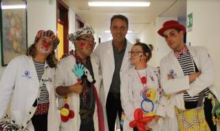 Soccorso clown  gemelli  anziani  oms  demenza  msd  luppi