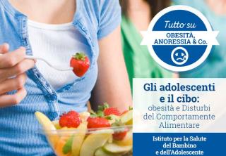 Obesità  anoressia  dieta  ragazze  bambino  gesu'