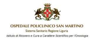 TrakCare  pronto soccorso  san martino  genova  day hospital  ricoveri