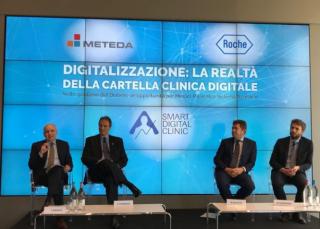 Diabete  gestione  roche  insulina  studio m guidance  HbA1c  balestri  fornengo  meteda  cartella informatizzata  Vespasiani