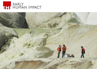 Early human impact cnr clima
