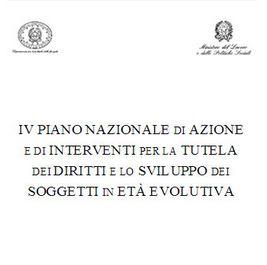 Politiche, infanzia, piano, convenzione onu, ministero, italia