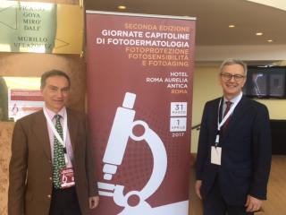 Foto convegno a sinistra Dr. Giovanni Leone a destra Dr. Mauro Picardo