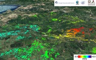 Cnr  radar  faglia  sisma  terremoto  ricerca