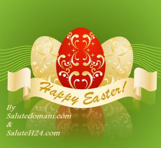 Happy easter buona pasqua