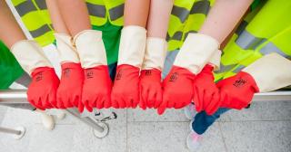 Clean up  pulizia  volontariato  lugano