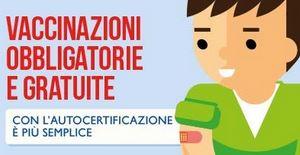 Lazio  vaccino  vaccinazione  asl  autocertificazione  zingaretti  iscrizione  scuola