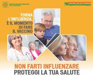 Vaccino  vaccinazione  influenza  emilia  romagna  asl