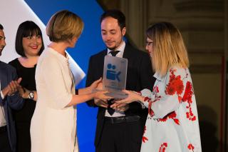 Premiazione VINCITORE Marco Lupia