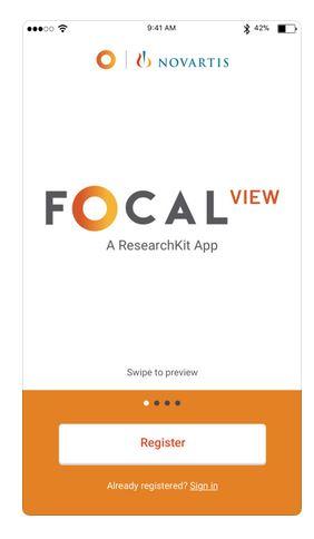 FocalView  app  novartis  occhi  consenso  ricerca  studio  Bullimore