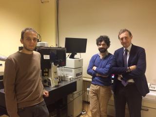 Equipe ricerca Università Cattolica - prof. Maulucci - macchina mappa grassi