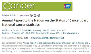 Cancer  survival  prostate  naaccr  death  rates