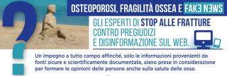 Stop fratture  osteoporosi  fake news  fragilità ossea  caduta  campagna