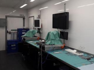 Mobile cadaver lab  sant'andrea  ortopedia