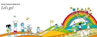Roche  Children's Walk  fondazione  frattini  infanzia  sport