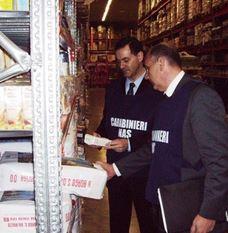 Nas  carabinieri  alimenti  bio  biologici  sequestro