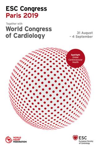 Esc  congress  parigi  congresso  2019  astrazeneca  cuore  studio THEMIS  DAPA-HF