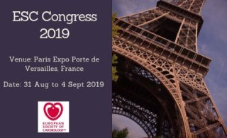 Congresso  parigi  esc  2019  cuore  cvd  terapia  wcc