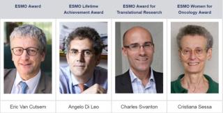 Esmo  2109  award  sessa  tumore  cancro  di leo  oncology  premio  barcellona
