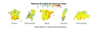 Ocse  clima  effetto serra  gas  energia  paganello  isolamento  termico  ambiente  francia  olanda  de cian  Environmental Science and Policy  condizionatori  svizzera