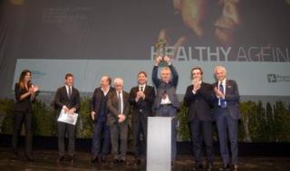 Kroemer  ricerca  lombardia  fontana  cerimonia  premio  Metronomica