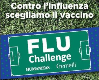 Flu  challenge  humanitas  gemelli  influenza  operatori  medici  campagna  vaccino  vaccinazione