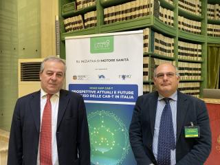 Franco Locatelli e Fabio Ciceri