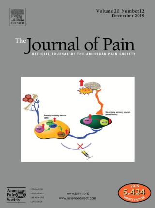 Journal of Pain  study  National Center for Complementary and Integrative Health  chronic musculoskeletal  physical therapy