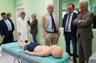 Inaugurazione del primo CENTRO DI SIMULAZIONE MEDICA AVANZATA della Scuola di Medicina dell'Università degli Studi di Torino 7