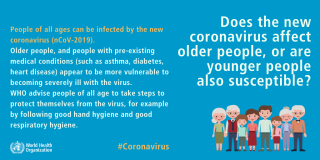 Mythbuster-virus  anziani  coronavirus  infezione  asma  diabete  cuore  oms