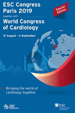 Malattie cardiovascolari  esc  2019  parigi  congresso  cuore  ipertensione
