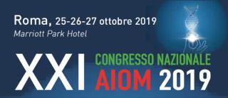 2019RM_AIOMXXI_tumore aiom 2019 roma