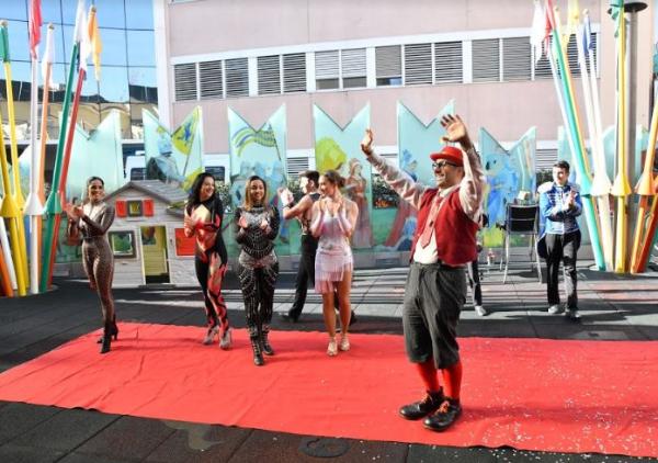 Rony Roller Circus  en Bambino Gesu