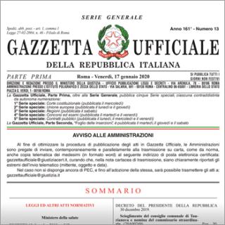 Dat  cartella clinica  fine vita  Gazzetta ufficiale  banca dati  ministero