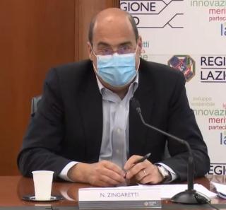 Zingaretti  covid-19  regione lazio  pd  lazio sicuro  mascherina  fase 2  emergenza  coronavirus
