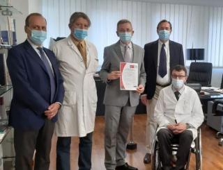 Tumore  astellas  neoplasia  uro-genitale  sant'andrea  certificazione  riconoscimento  prostata  rene  pene