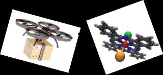Immagine droni molecolari