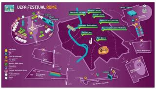 Figc  uefa  festival  calcio  europei  Football Village  Hotspot