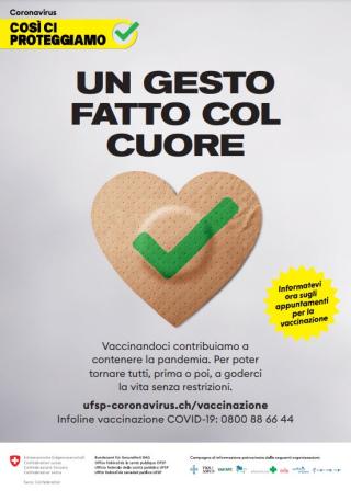 Ufsp  coronavirus  ch  vaccinazione  covid  campagna  vaccino  svizzera